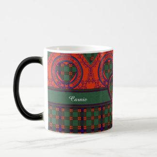 Carnie clan Plaid Scottish kilt tartan Magic Mug