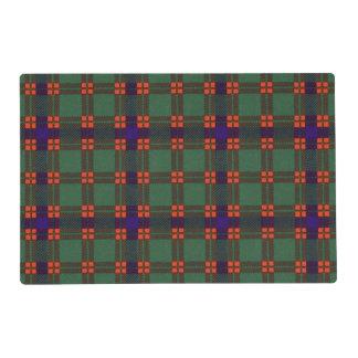 Carnie clan Plaid Scottish kilt tartan Placemat