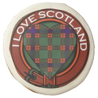 Carnie clan Plaid Scottish kilt tartan Sugar Cookie