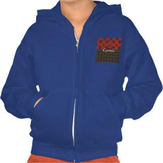 Carnie clan Plaid Scottish kilt tartan Hooded Sweatshirt
