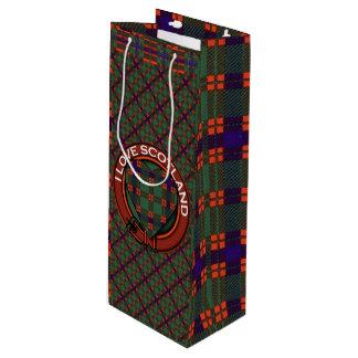 Carnie clan Plaid Scottish kilt tartan Wine Gift Bag