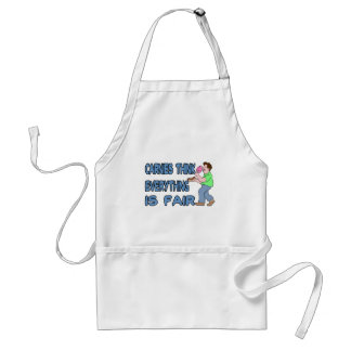 Carnies Think Adult Apron