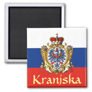 Carniola Coat of Arms 2 Inch Square Magnet