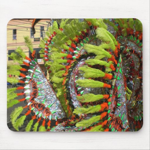 Carnival 2010 in Trinidad Mouse Pad