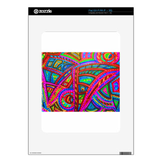 CARNIVAL ABSTRACT DECALS FOR iPad