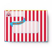Carnival and Circus Envelopes