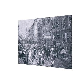 Carnival at Philadelphia Canvas Print