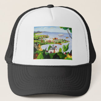 Carnival At The Beach Trucker Hat