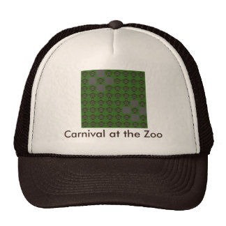 Carnival at the Zoo Trucker Hats