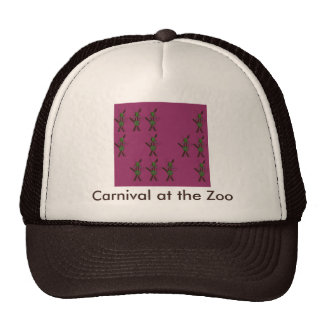 Carnival at the Zoo Mesh Hats