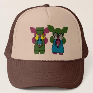 Carnival at the Zoo - The Zoo-Keeper... Trucker Hat