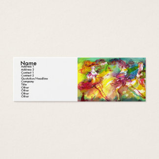CARNIVAL BALLET / Venetian Masquerade,Dance,Music Mini Business Card
