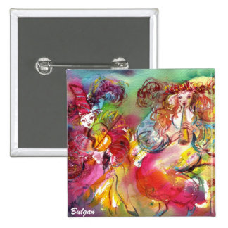 CARNIVAL BALLET / Venetian Masquerade,Dance,Music Pinback Button