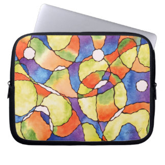 Carnival Balloons Abstract Laptop Bag Laptop Sleeve