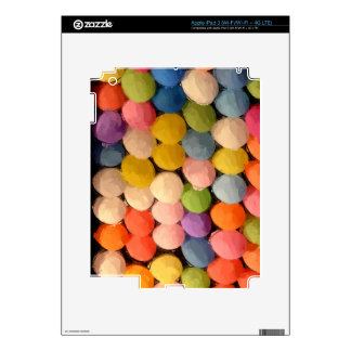 Carnival Balloons Decals For iPad 3