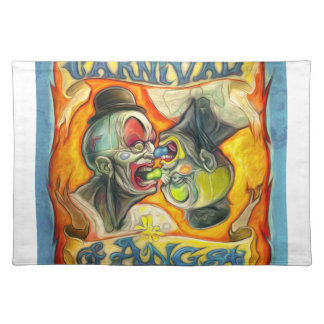 Carnival-Banner - Carnival of Angst Cloth Placemat