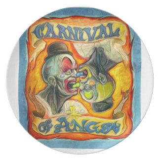 Carnival-Banner - Carnival of Angst Dinner Plate