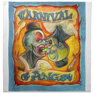 Carnival-Banner - Carnival of Angst Napkin