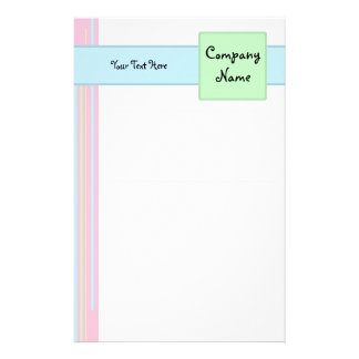 Carnival Candy Lined Stationery