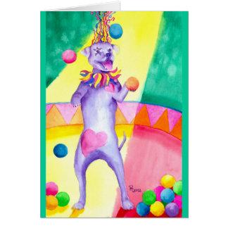 Carnival Canine Card