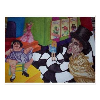Carnival Caper Postcard