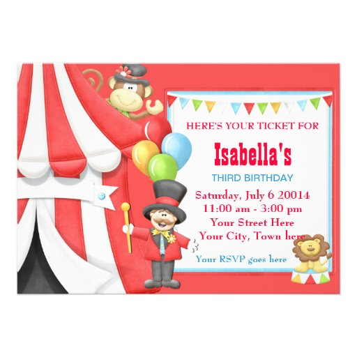 Carnival Birthday Party Invitations absolutely amazing ideas for your invitation example