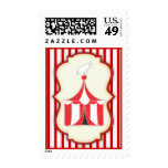 Carnival Circus Tent Postage Stamp
