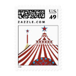 Carnival Circus Tent Stamps