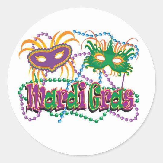 Carnival Classic Round Sticker