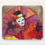 Carnival Clown Mouse Mats