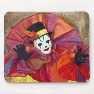 Carnival Clown Mouse Pad