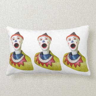 Carnival Clowns Lumbar Pillow
