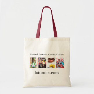 Carnival, Concerts, Cuisine, Culture Budget Tote Bag