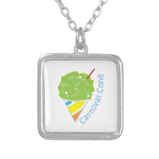Carnival Cone Personalized Necklace