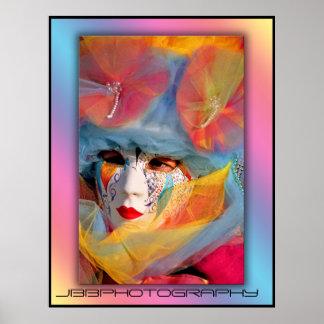 carnival confettii poster