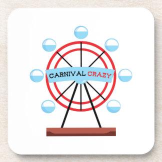 Carnival Crazy Beverage Coaster