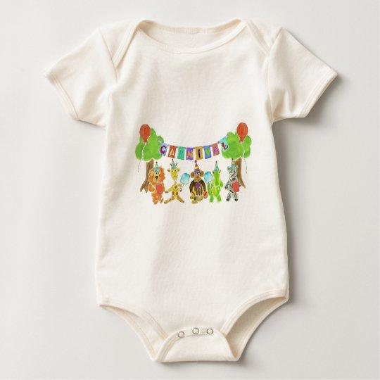 Carnival Critters Baby Bodysuit