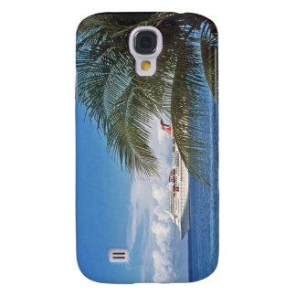 Carnival cruise ship docked at Grand Cayman Island Samsung Galaxy S4 Case