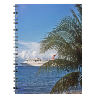 Carnival cruise ship docked at Grand Cayman Island Journal
