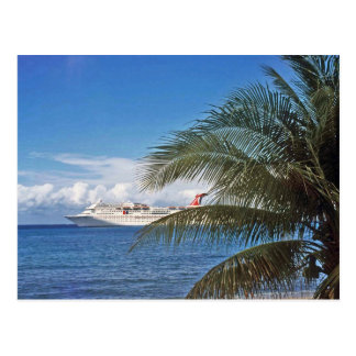 Carnival cruise ship docked at Grand Cayman Island Post Cards