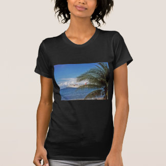 Carnival cruise ship docked at Grand Cayman Island Tee Shirts