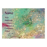 CARNIVAL DANCE / Venetian Masquerade Ball Large Business Cards (Pack Of 100)