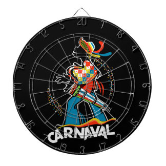 Carnival Dartboard With Darts