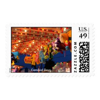 Carnival Days Postage Stamp