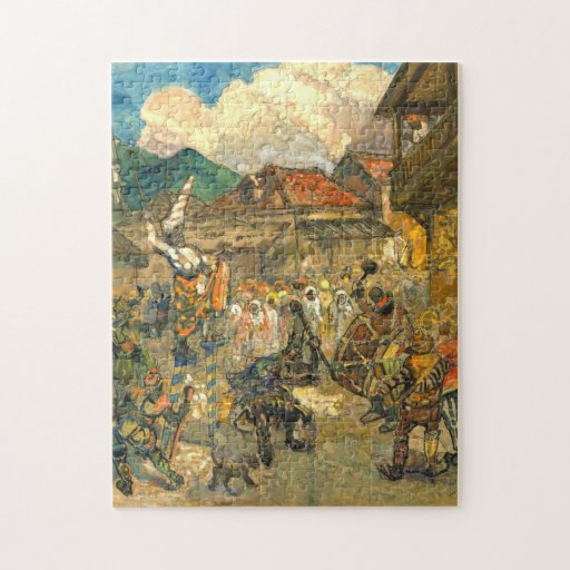 Carnival Domincia 1919 Jigsaw Puzzle