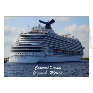Carnival Dream Greeting Cards