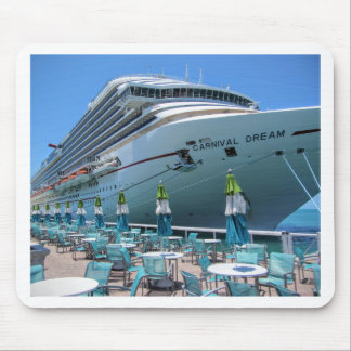 Carnival Dream in Key West Mouse Pad