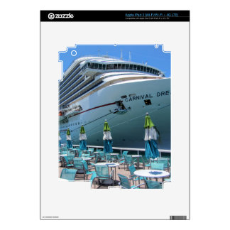 Carnival Dream in Key West Skins For iPad 3