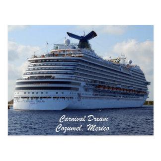Carnival Dream Postcard