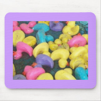 Carnival Ducks Mouse Pad